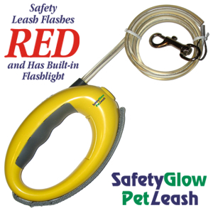 Order the Safety-Glow Pet Leash by Advanced PureLiving